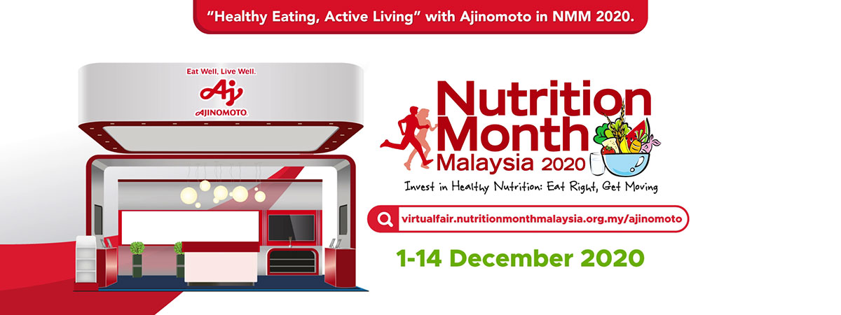Ajinomoto Continues To Be Main Sponsor of The Nutrition Month