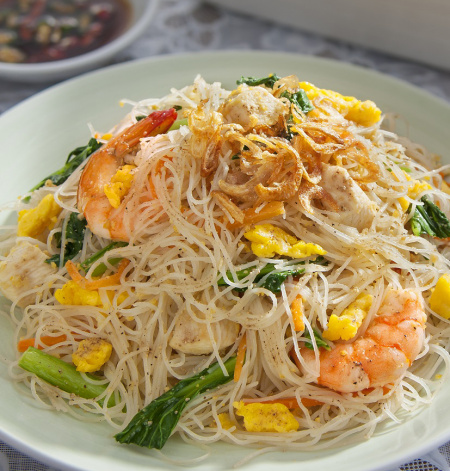 Singapore Style Fried Rice Vermicelli