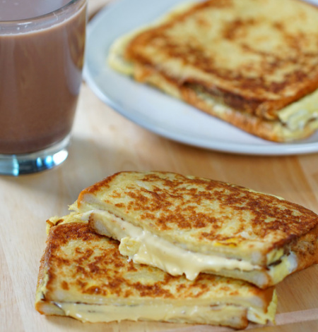 Egg Toast Cheese Sandwich